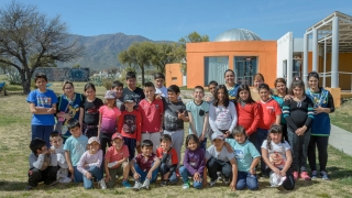 De Naschel a La Punta para vivir una jornada  educativa en contacto con la ciencia