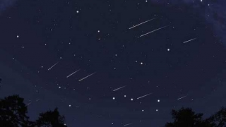 Una nueva lluvia de estrellas hará brillar el cielo puntano